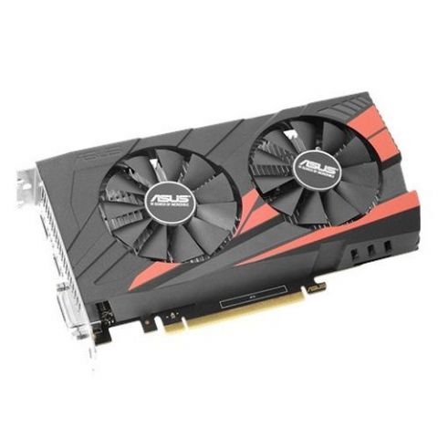 Asus Expedition GTX1050 OC eSports, 2GB DDR5, PCIe3, DVI, HDMI, DP, Overclocked